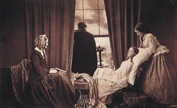fotografia post mortem.costumbre del siglo XIX